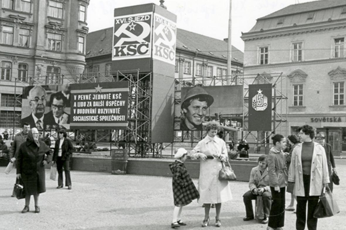 Brno (z Města před rokem 1989 a dnes)