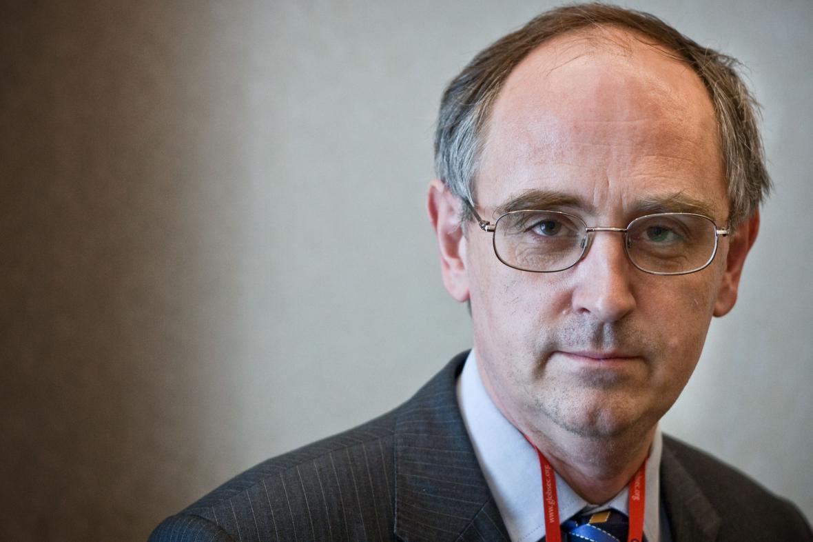 Britský novinář Edward Lucas