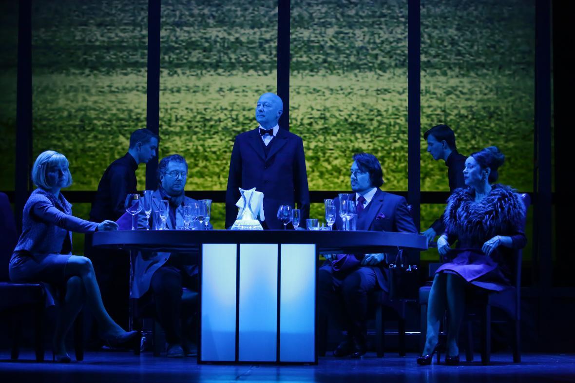 Večeře v Národním divadle moravskoslezském