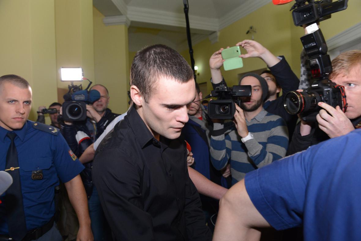 Smíchovský pirát Marek Půček před soudem