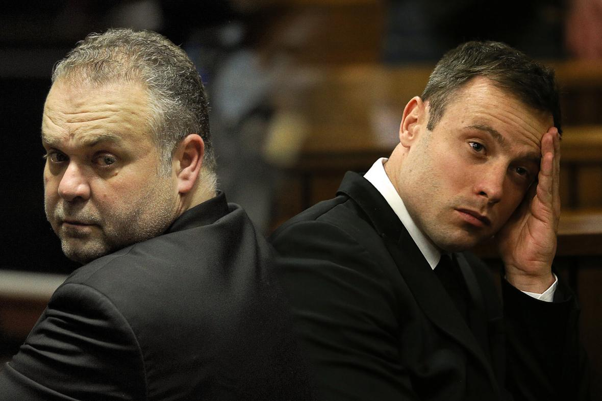 Radovan Krejčíř a Oscar Pistorius – budoucí spoluvězni