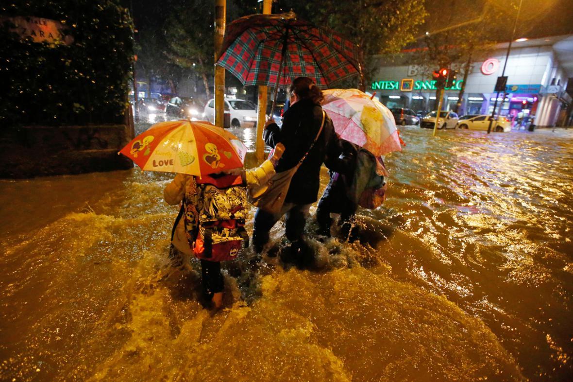 Záplavy v Miláně