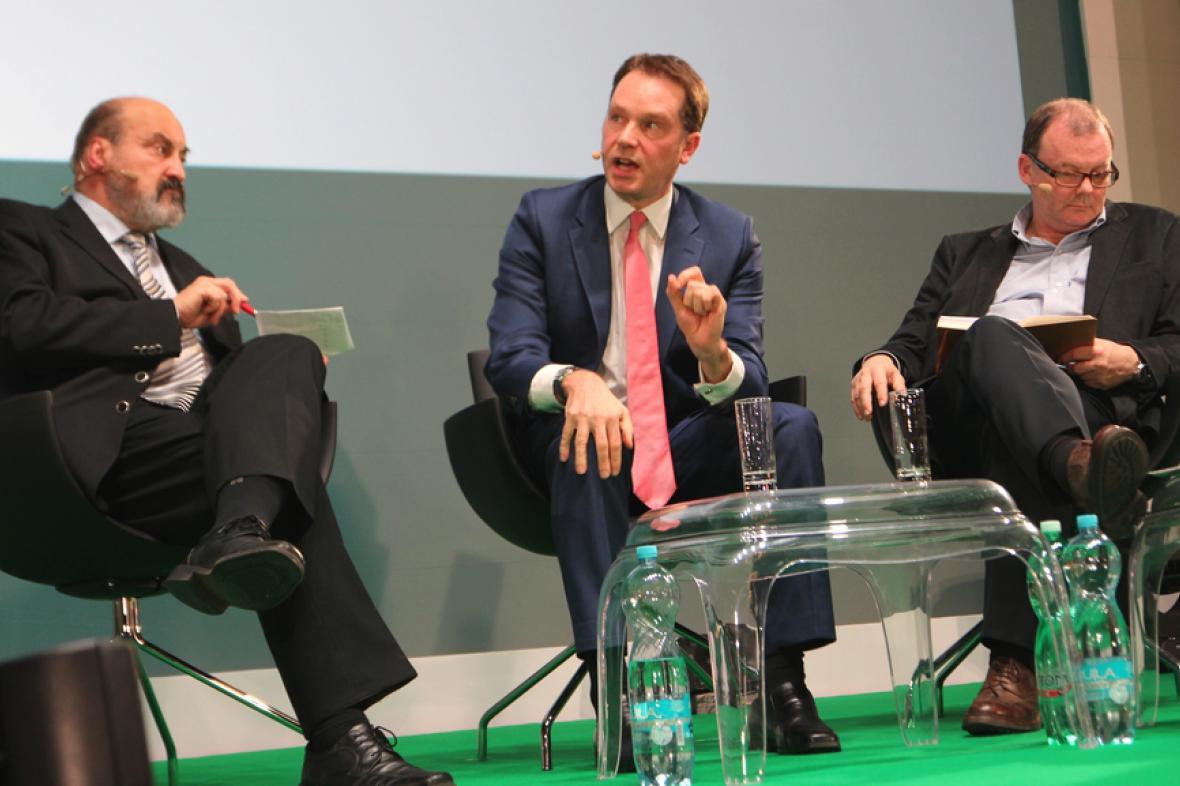 Jim Egan vystoupil na konferenci News Xchange