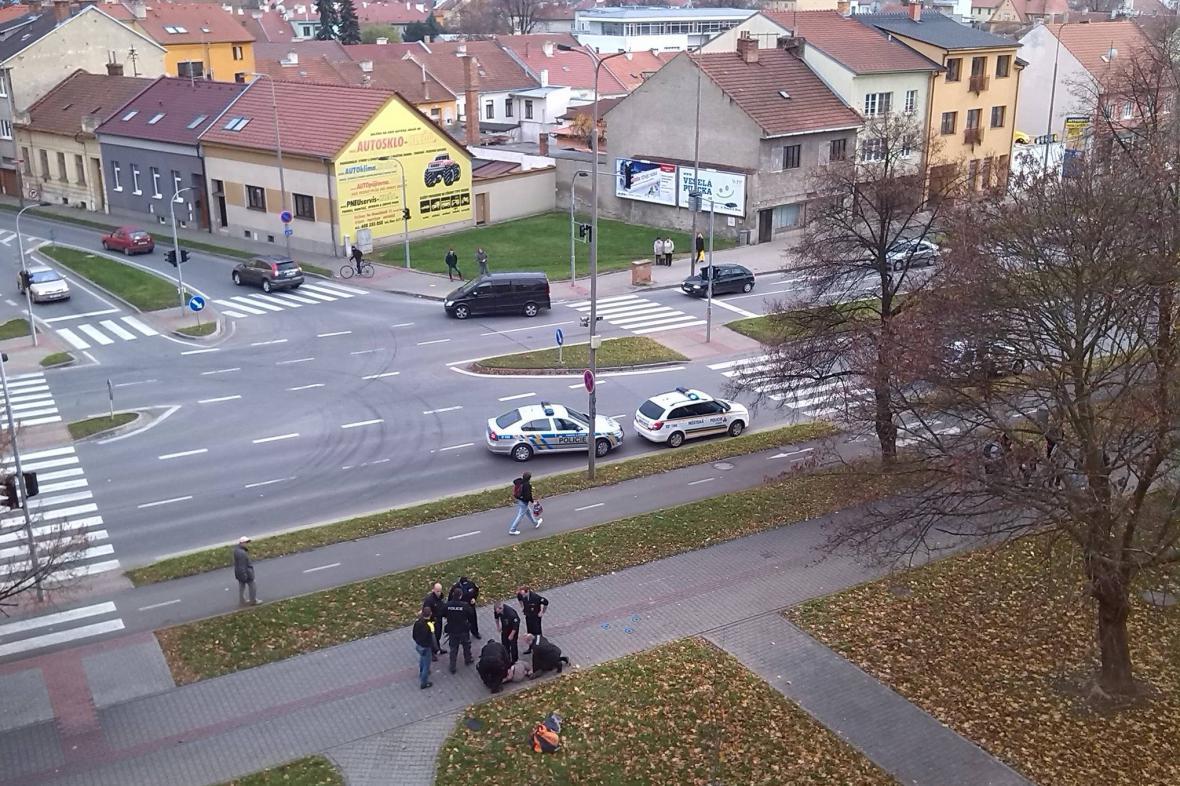 Policie zadržela útočníka ve Vyškově