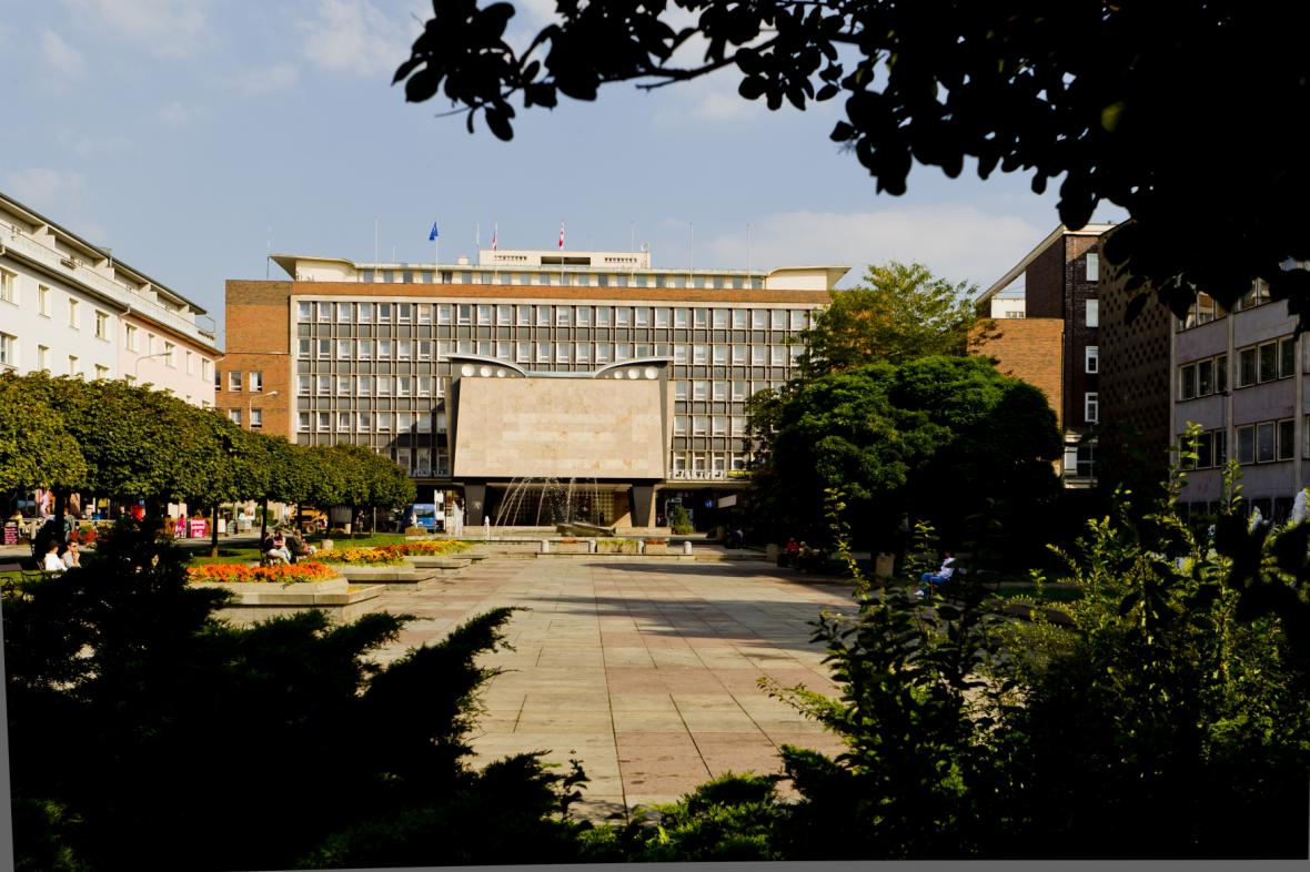 Ústecká radnice