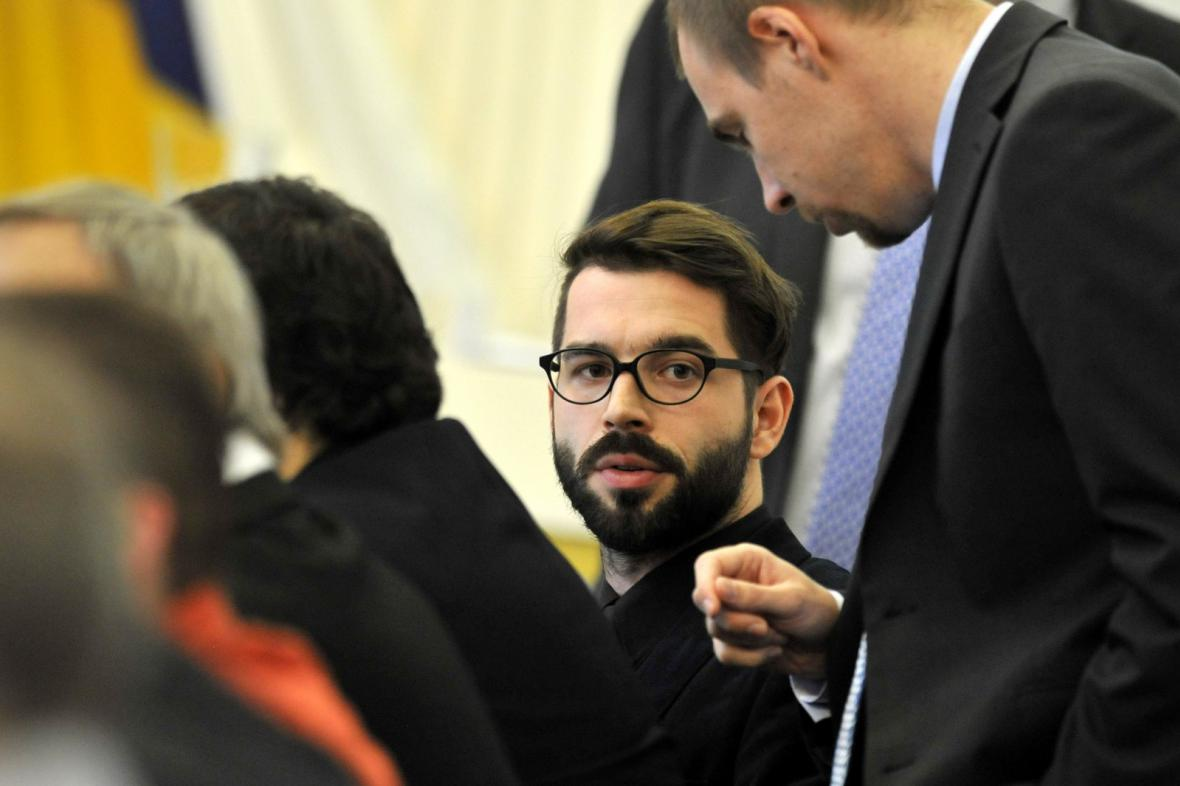 Nově zvolený starosta Vojtěch Franta