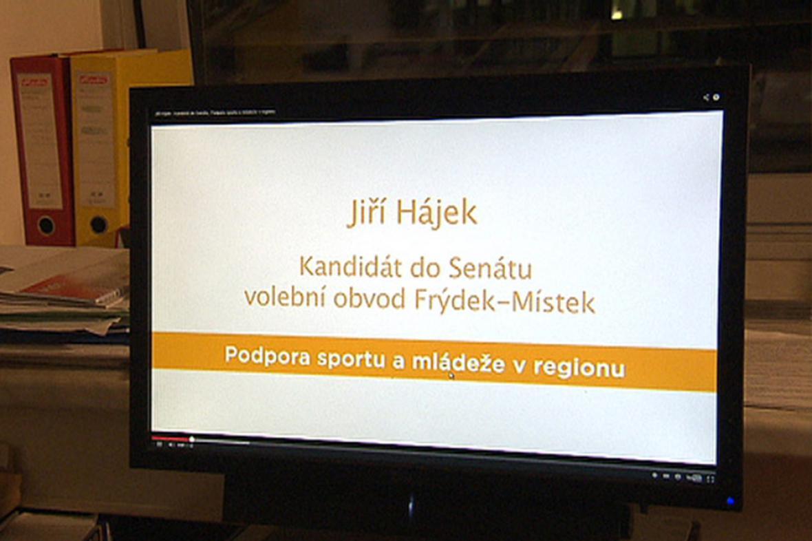Jiří Hájek, kandidát do Senátu