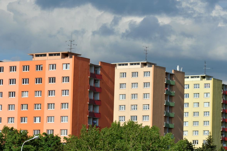 Panelové domy v Brně