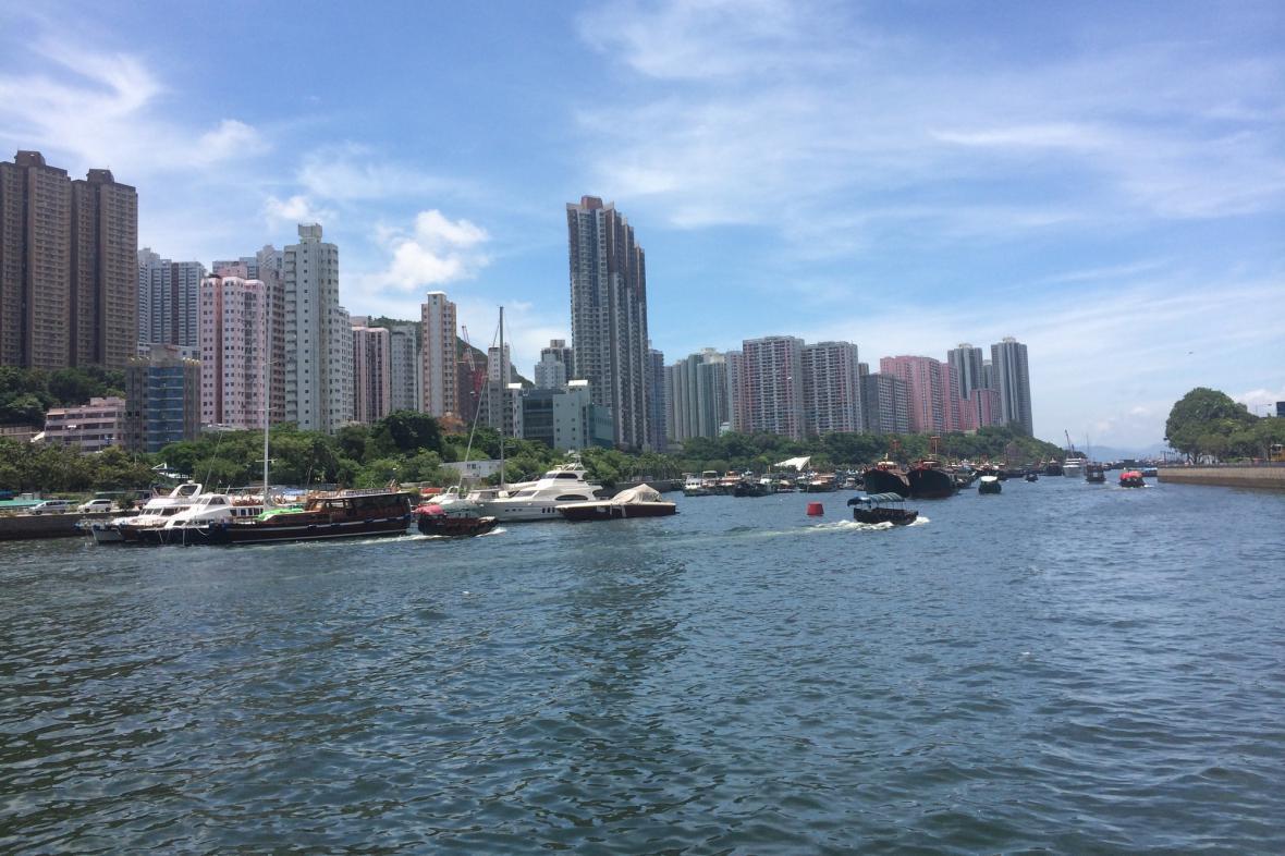 Výškové budovy jsou pro Hongkong příznačné