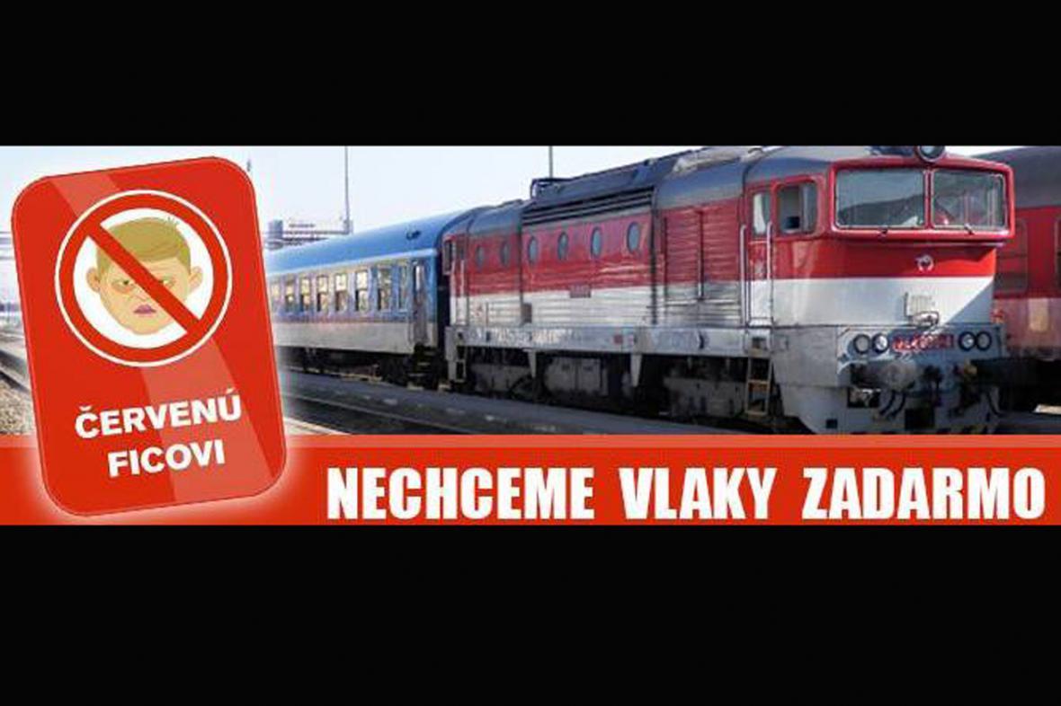 Iniciativa Nechceme vlaky zadarmo