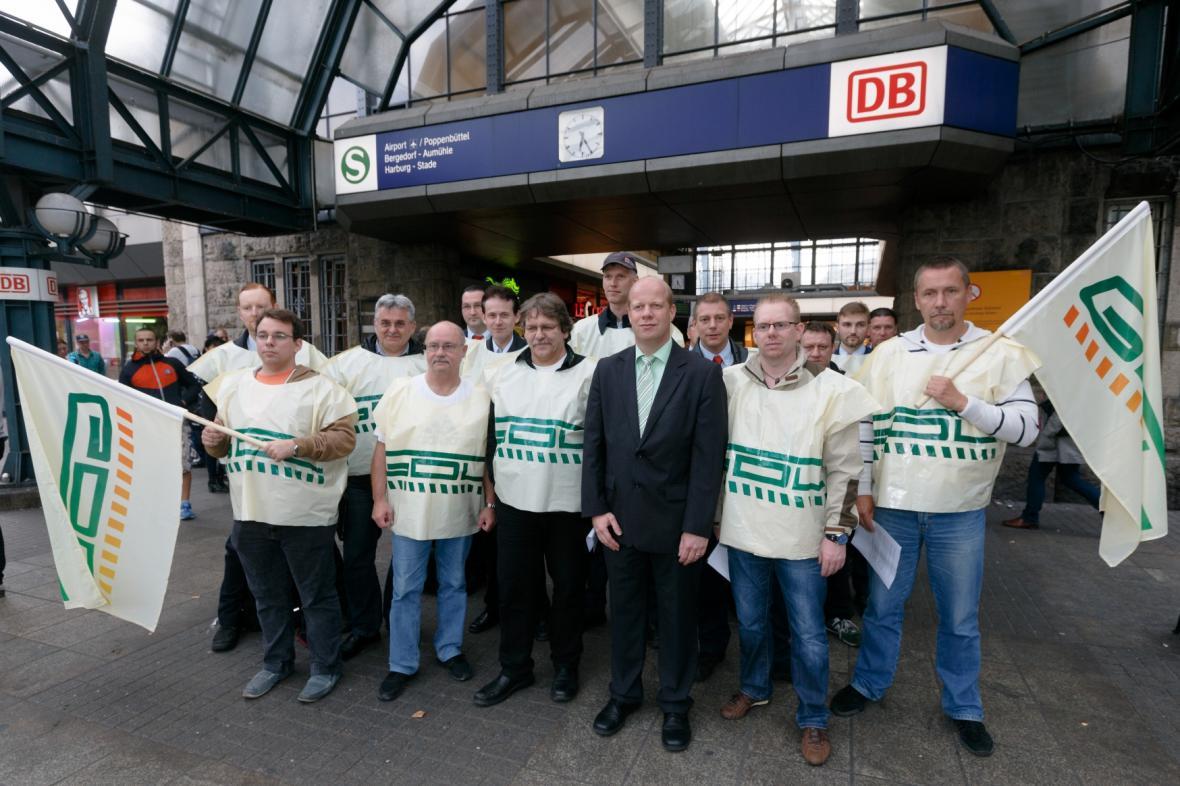 Strojvůdci Deutsche Bahn