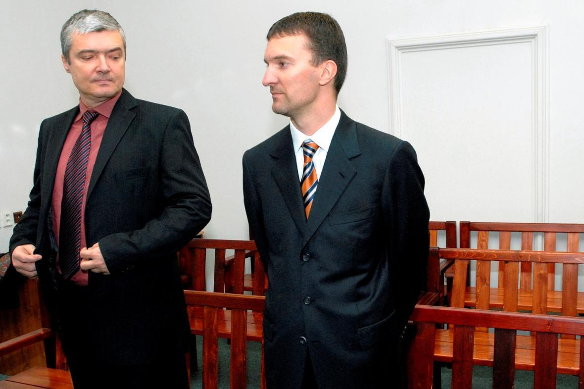 Miroslav Provod a Tomáš Pitr