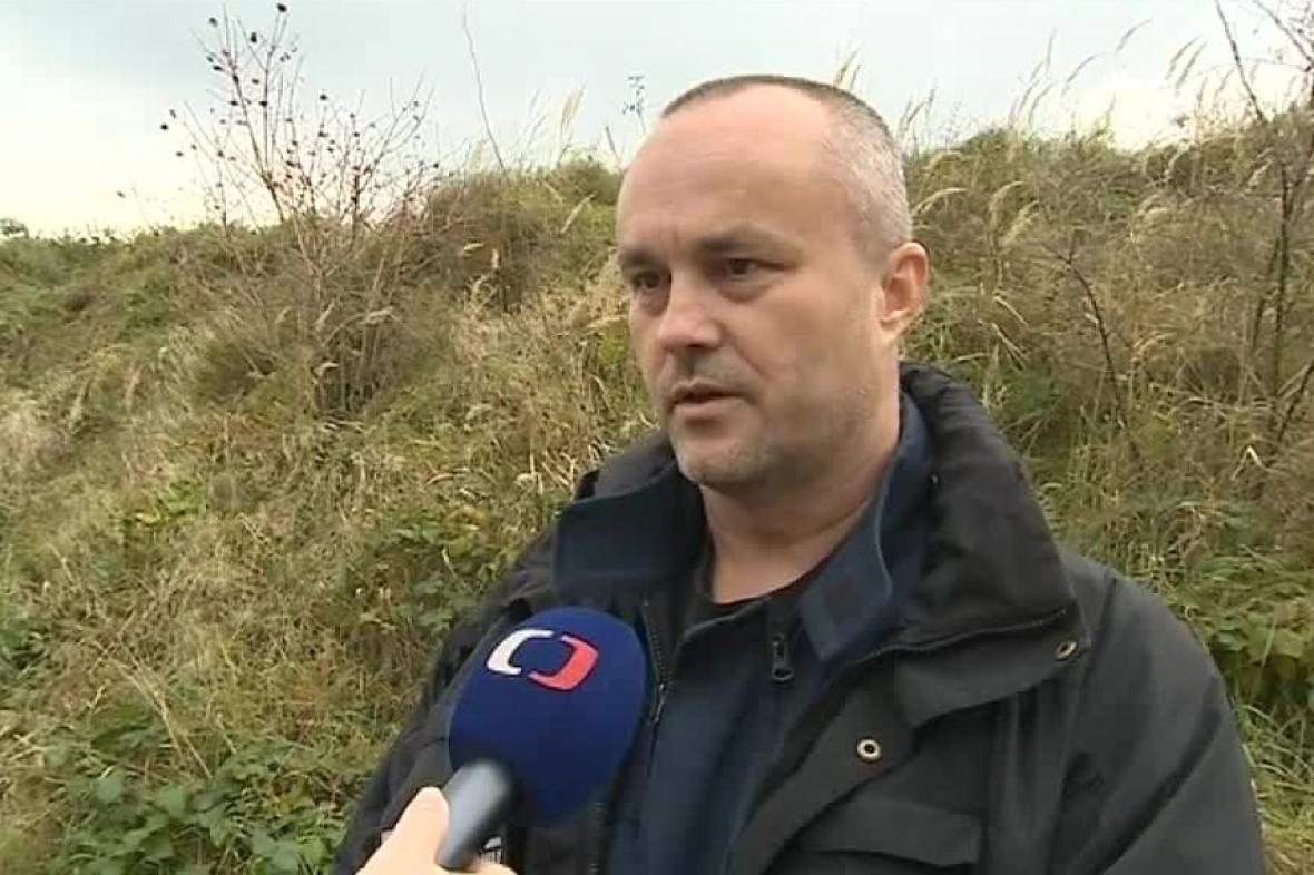 Pyrotechnik Jiří Lačňák
