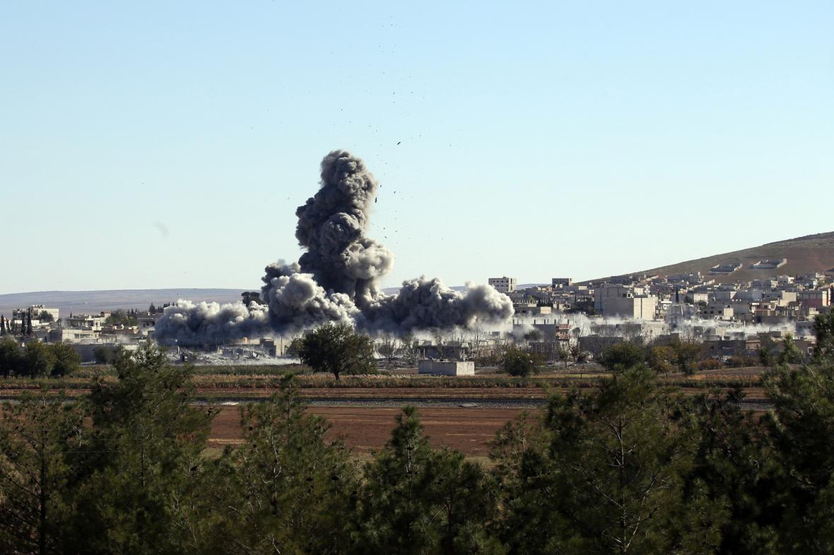 Boje v Kobani