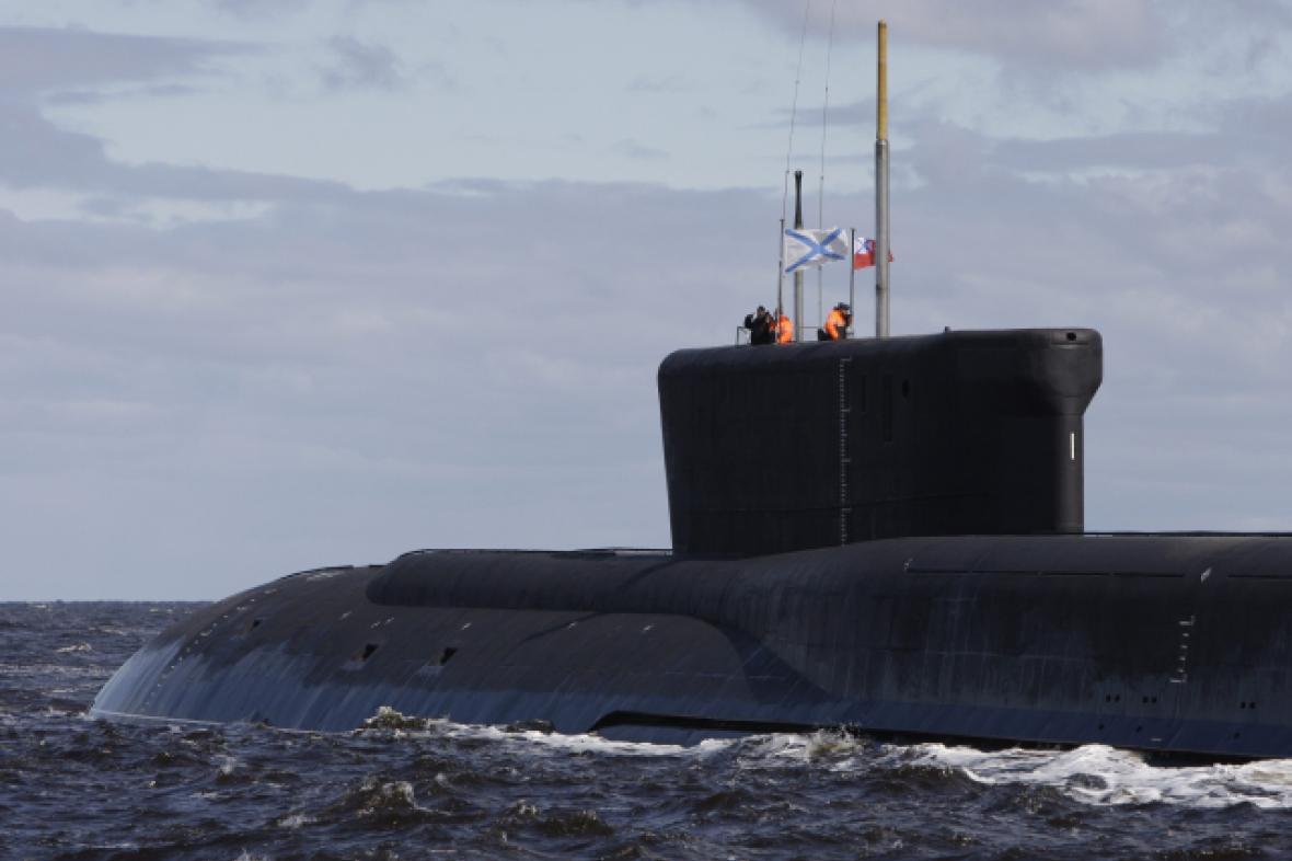 Ruská jaderná ponorka třídy Borej
