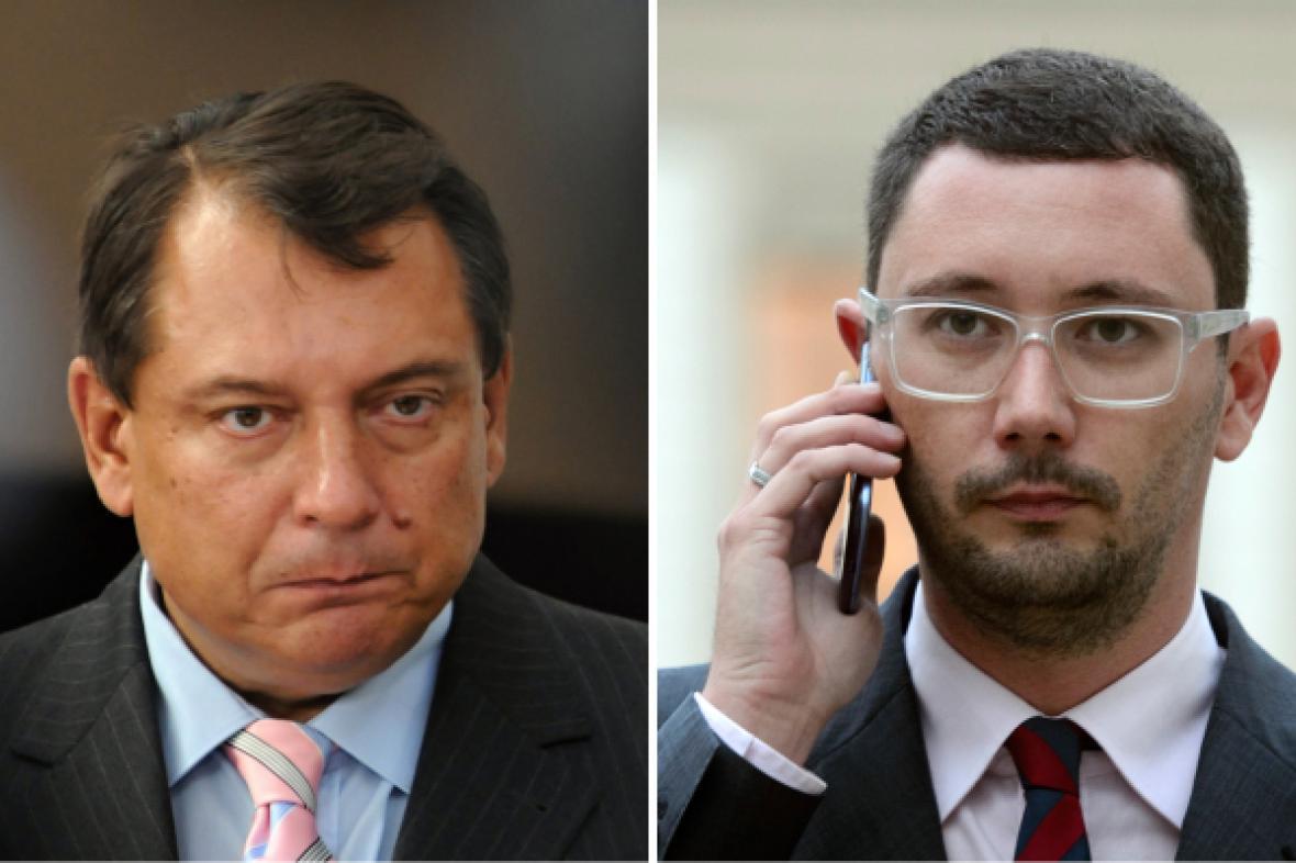 Jiří Paroubek a Jiří Ovčáček