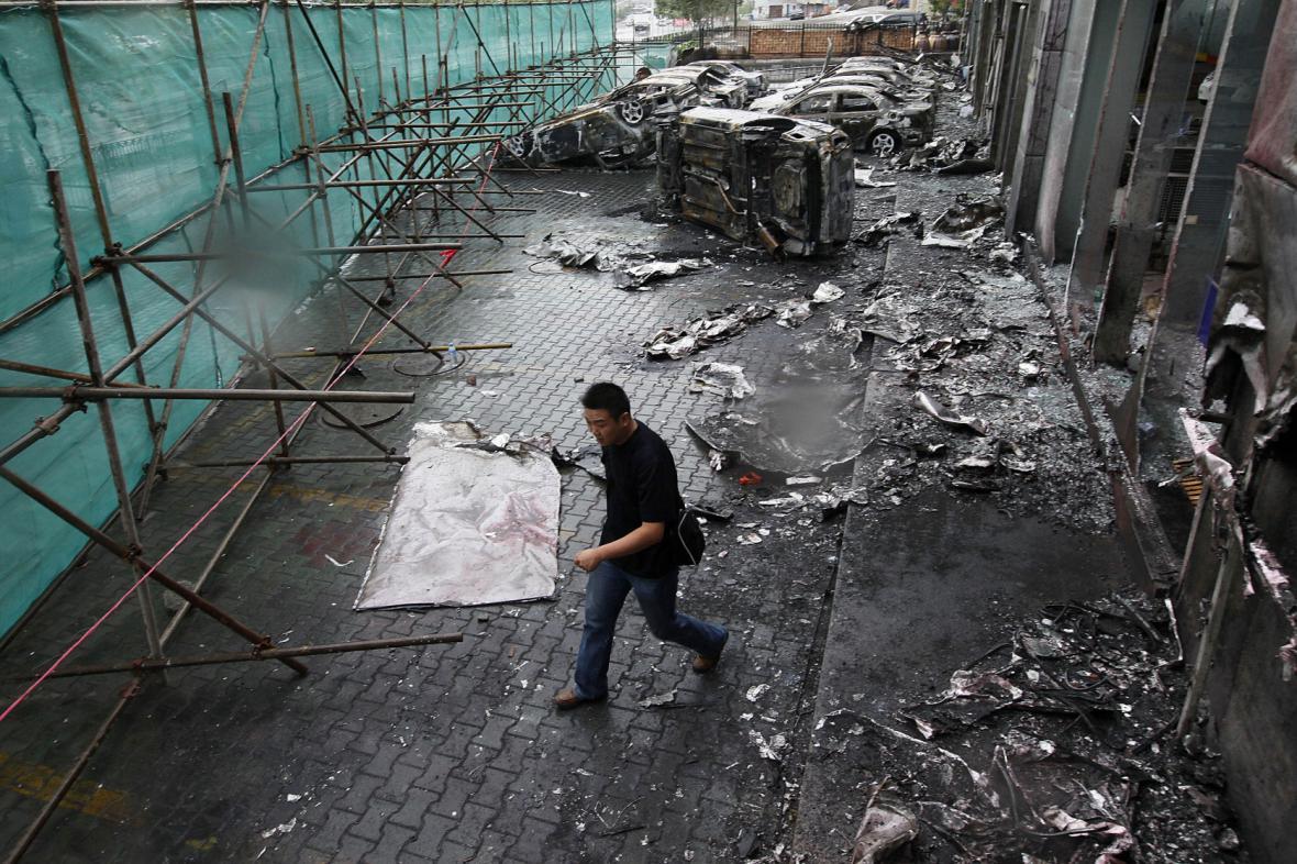 Nepokoje v Sin-ťiangu v roce 2009