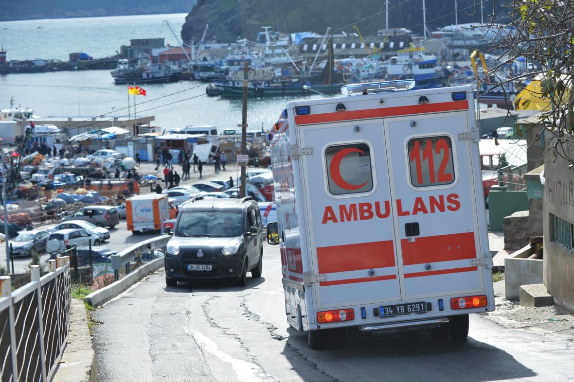 Záchranné práce v Turecku
