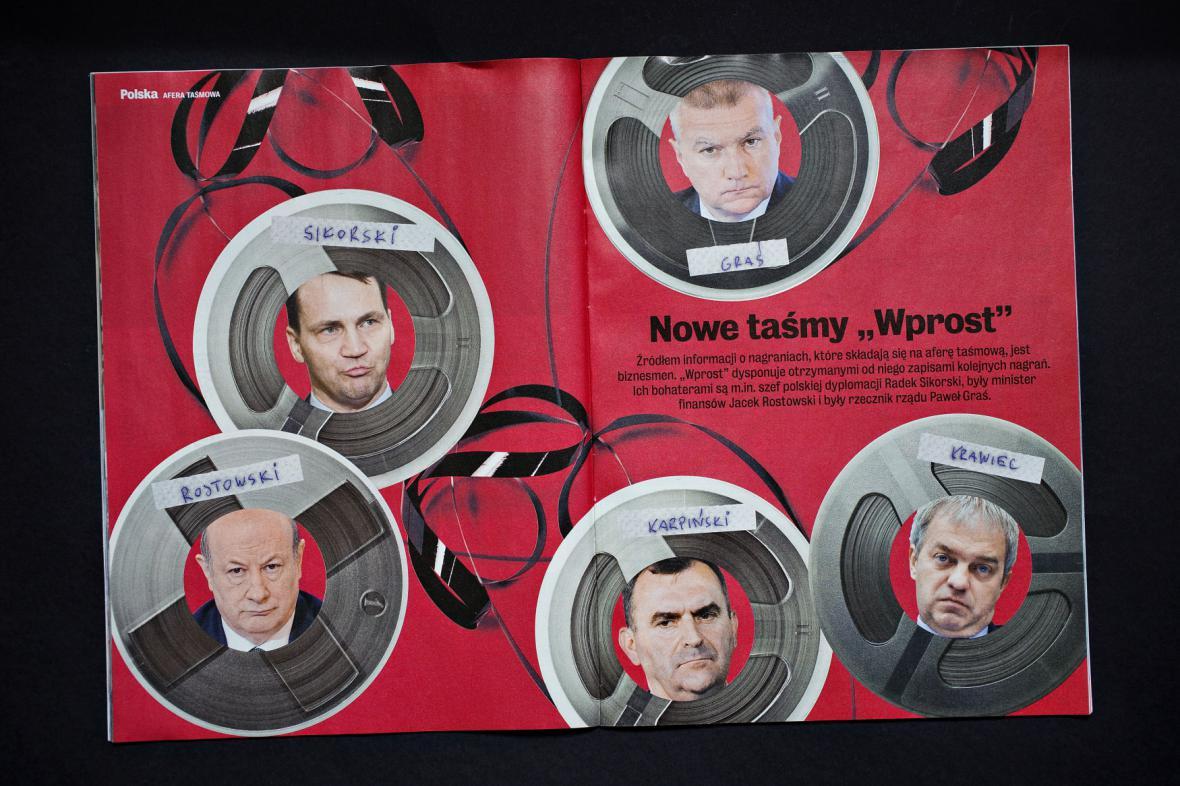 Aféra s odposlechy polských politiků