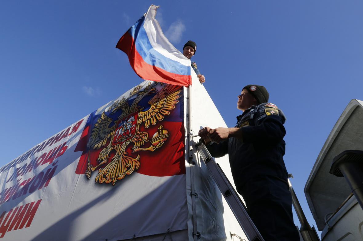 Na Ukrajinu zamířil další humanitární konvoj z Ruska