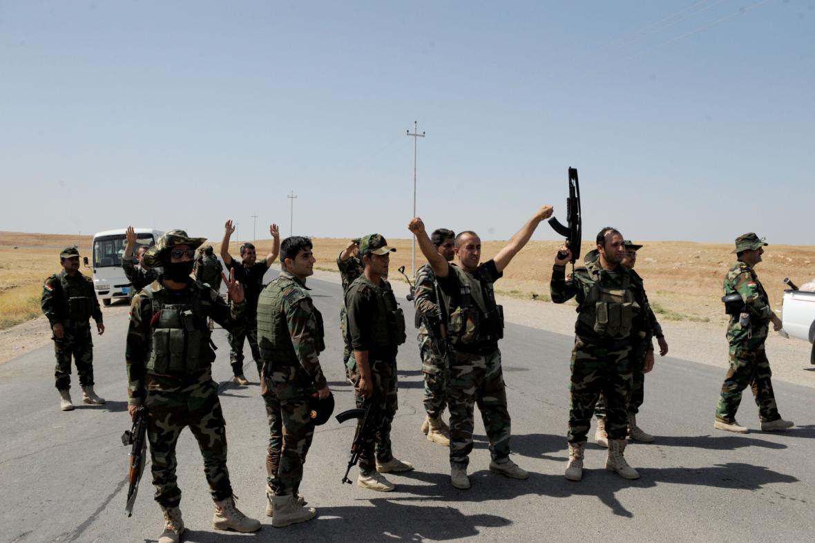 Kurdští bojovníci