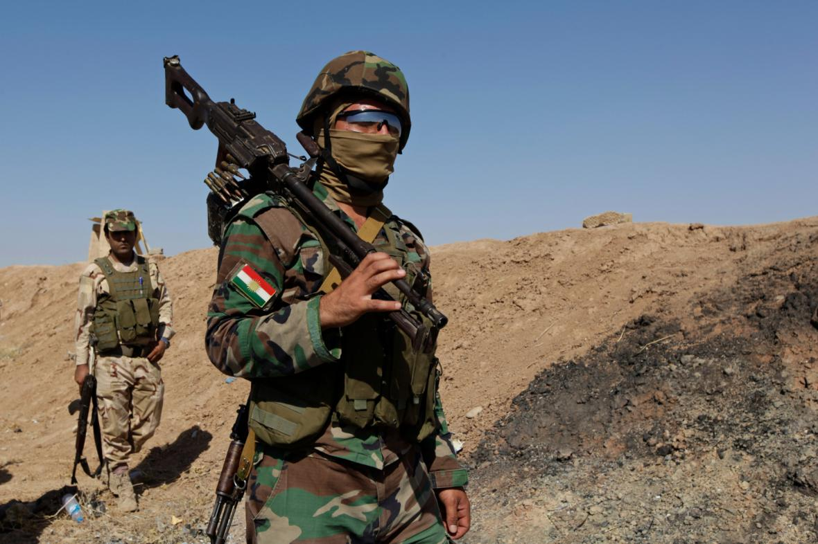 Kurdské ozbrojené složky pešmergů