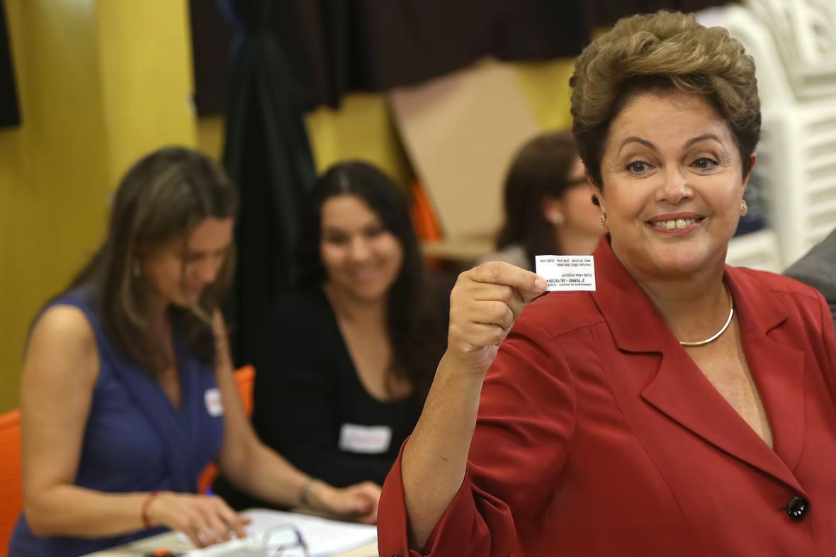 Dilma Rousseffová odvolila v Porto Alegre