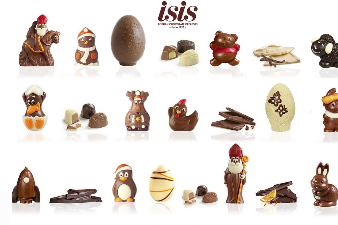 Belgický výrobce čokolády ISIS