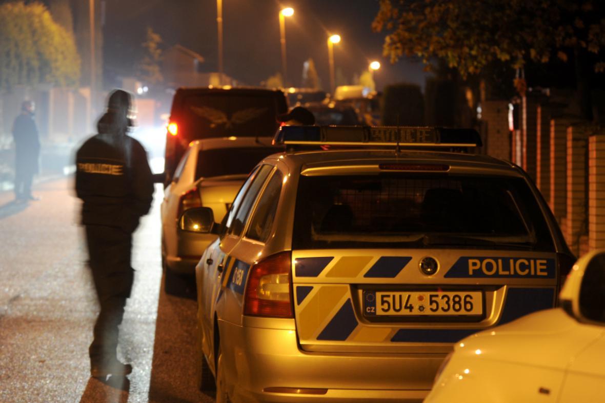 Vražda se stala v ulici Kamenný vrch, kde Houska bydlel