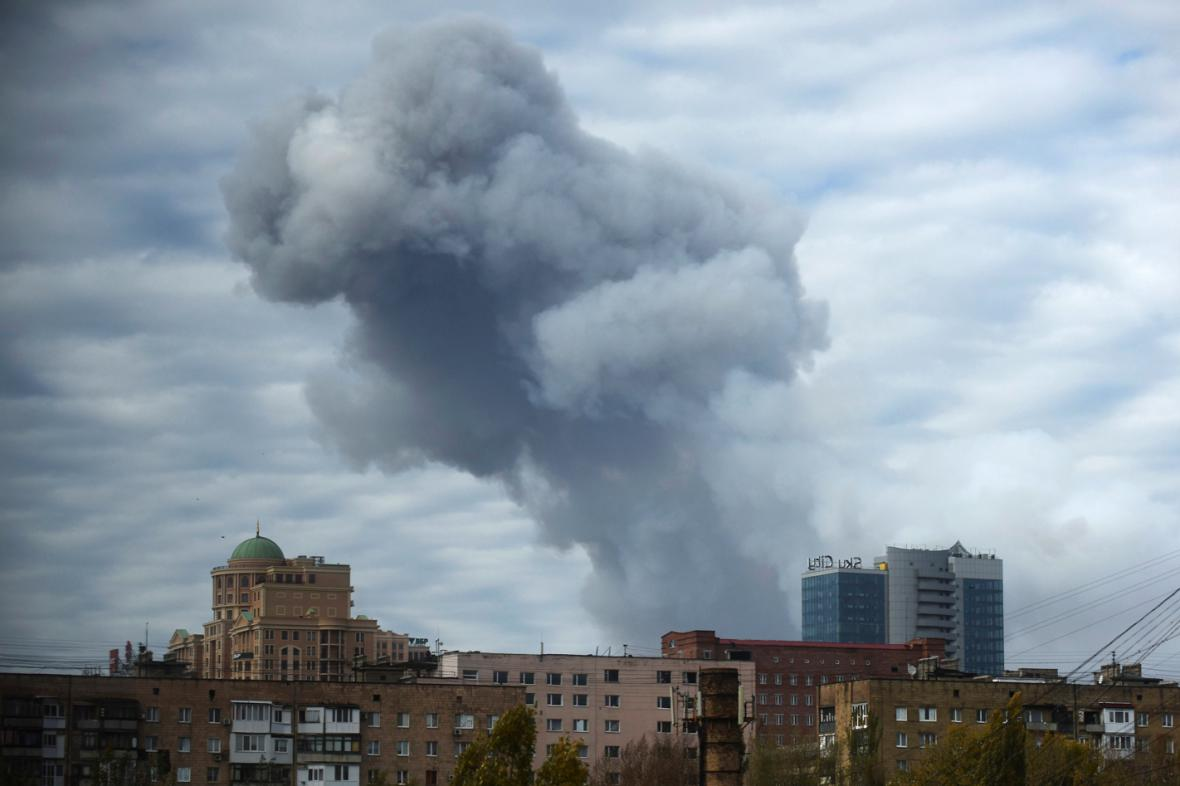 Doněckem otřásl výbuch