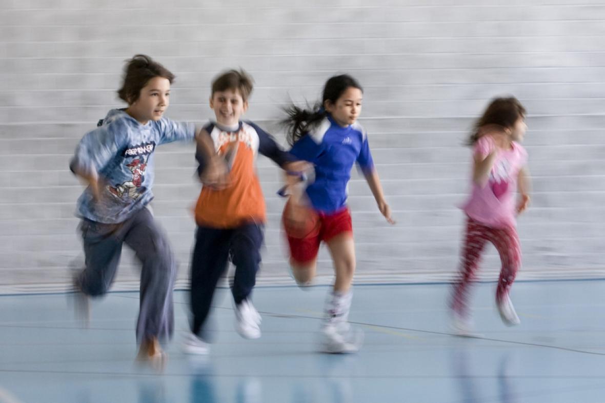 Sportování dětí