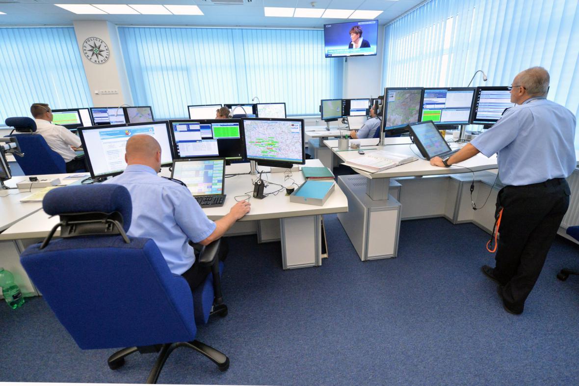 Policejní operační středisko