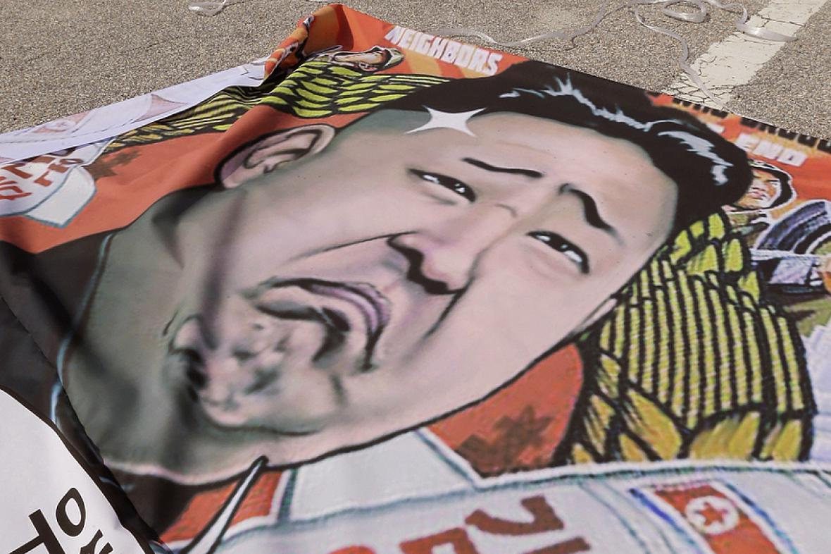 Podobizna Kim Čong-una