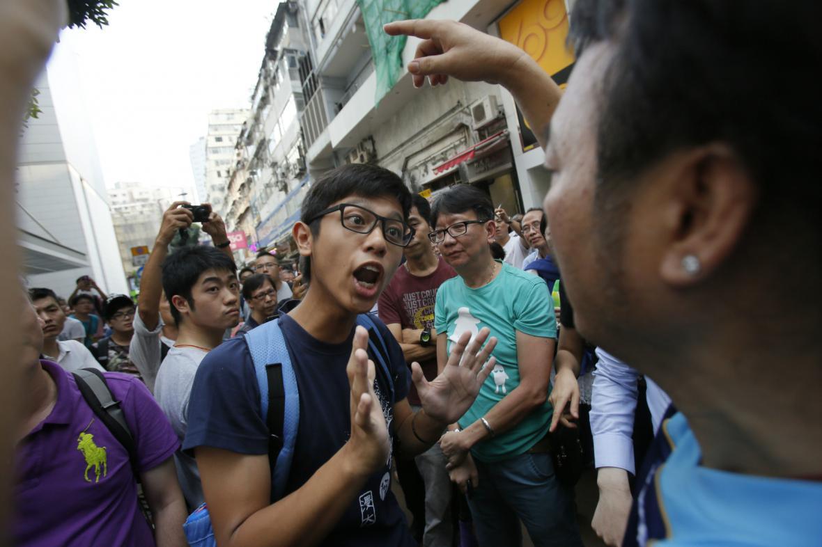 Hongkongské protesty