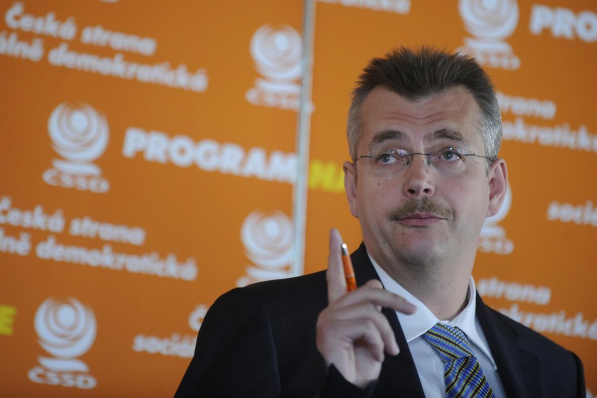 Jaroslav Tvrdík jako volební manažer ČSSD v roce 2010