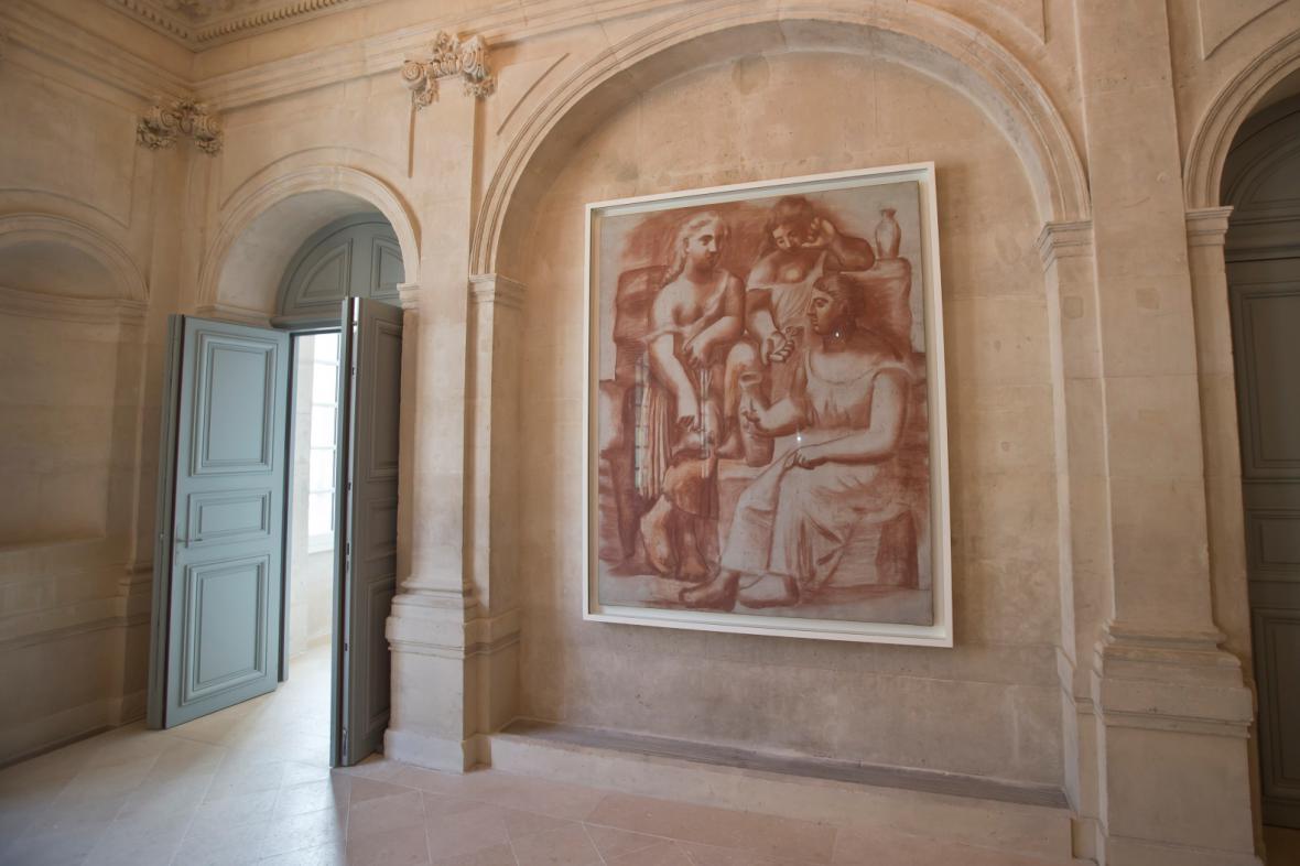 Picassovo muzeum v Paříži