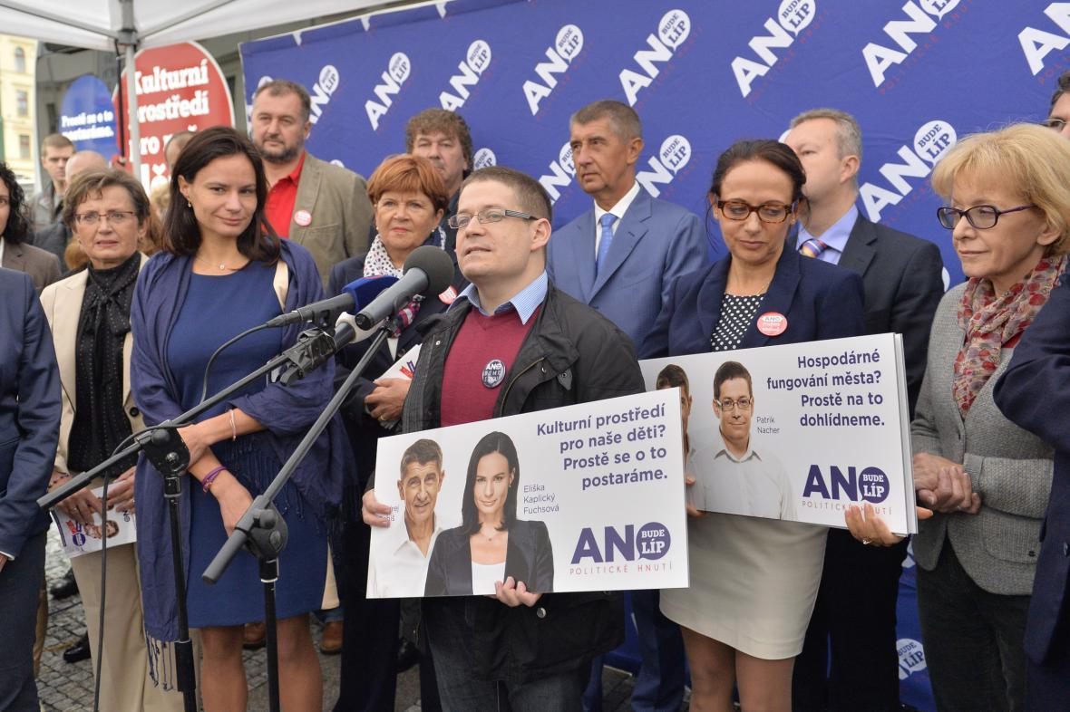 Volební kampaň ANO