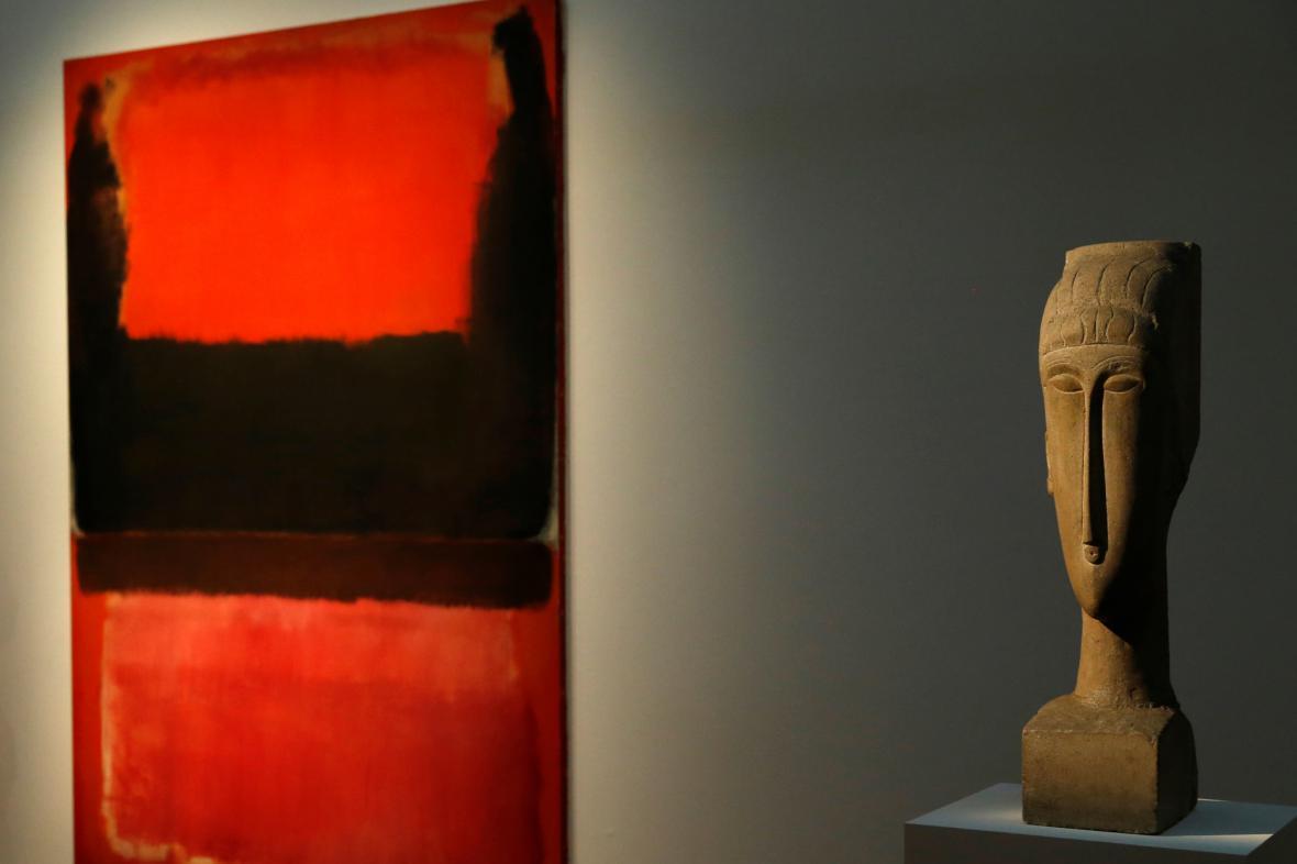 Aukce v Sotheby's