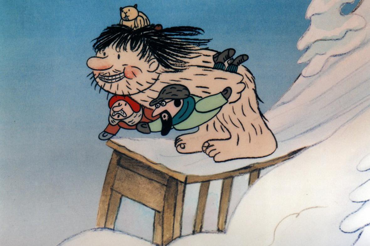 Sněžný muž Hugo