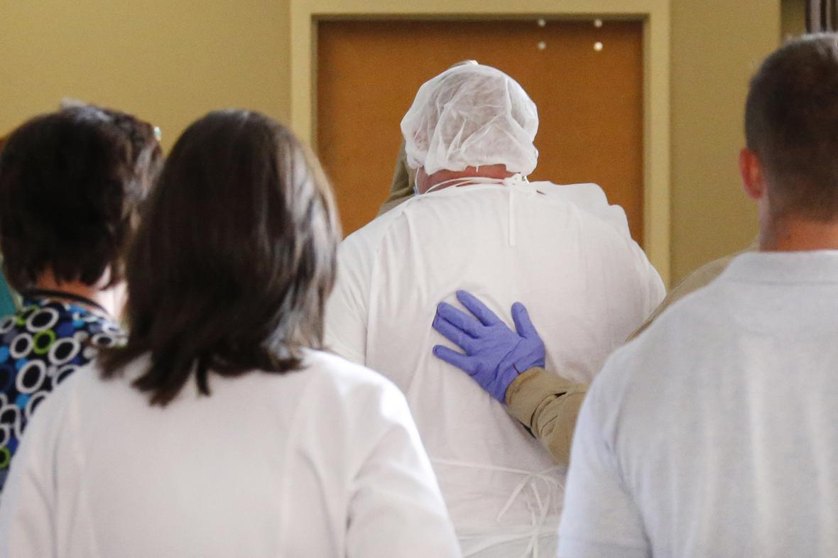 Pacient podezřelý na infekční nemoc ebola