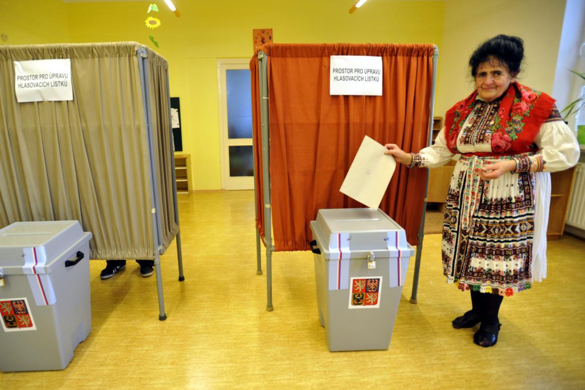 Volební místnost