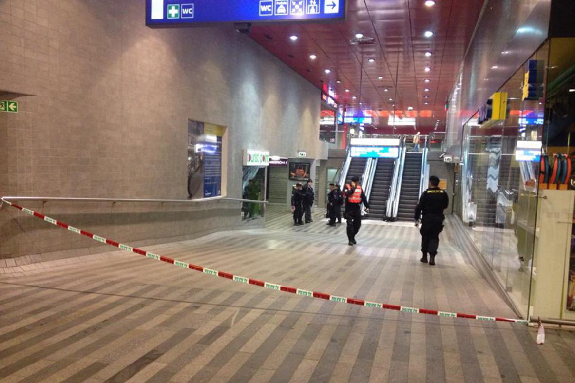 Uzavřené hlavní nádraží