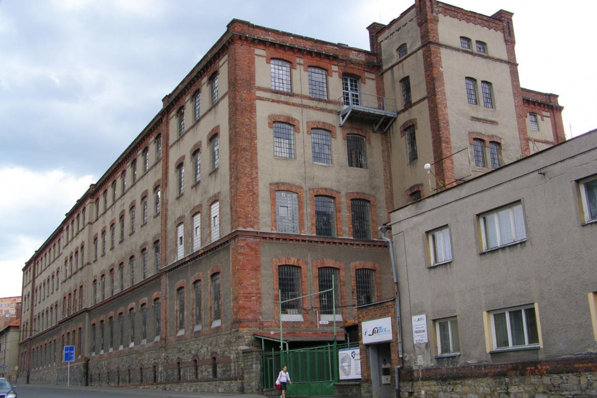 Bývalá textilka Slezan ve Frýdku-Místku