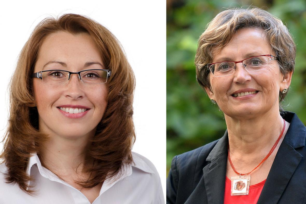 O křeslo v Senátu za Prahu 10 se utkají Ivana Cabrnochová a Jana Dušková