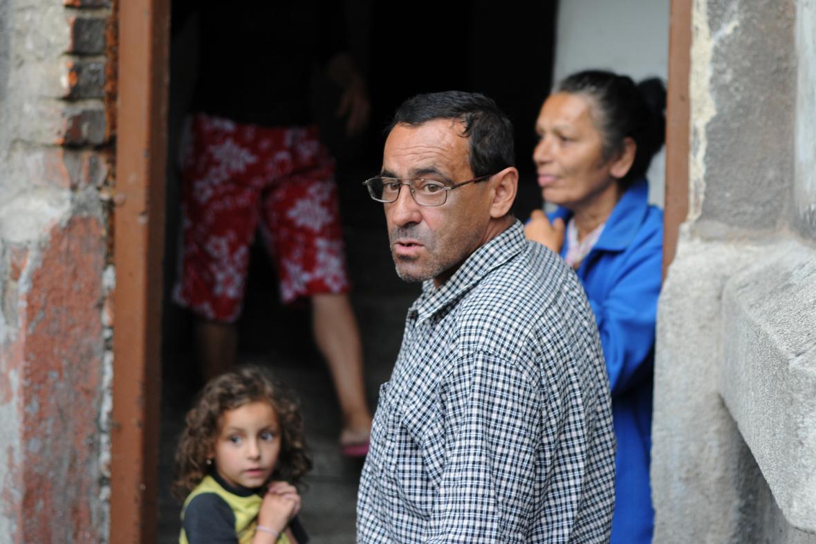 Jedna ze dvou posledních rodin, která v Přednádraží zůstává. Do příštího týdne