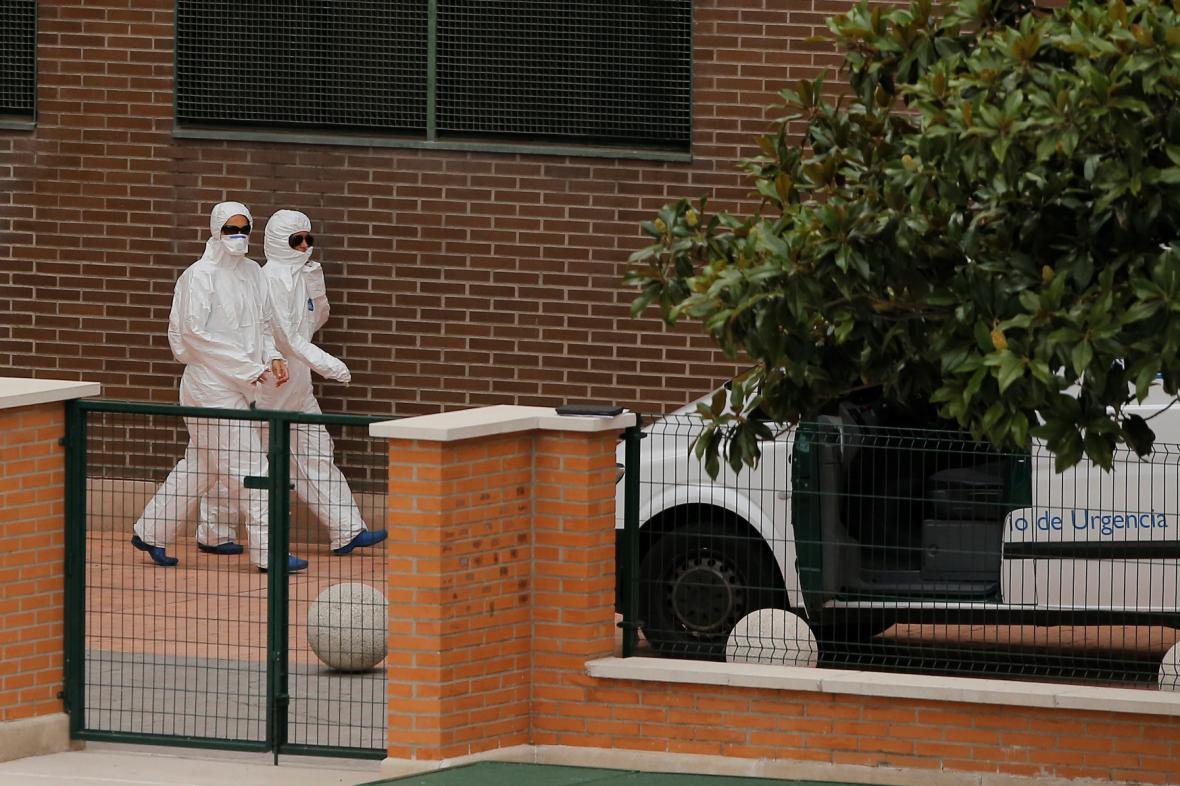 Ebola ve Španělsku