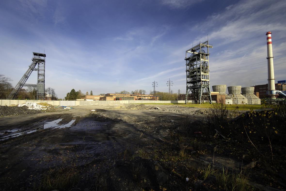 Připravovaná průmyslová zóna Barbora