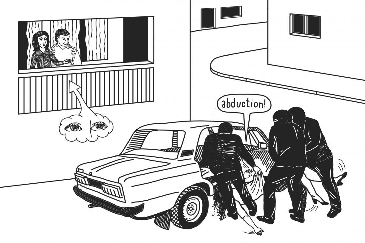 Násilí na severním Kavkaze (příběh Estěmirovová)