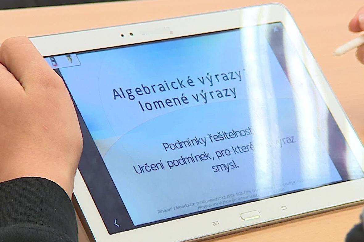 Výuka pomocí tabletu