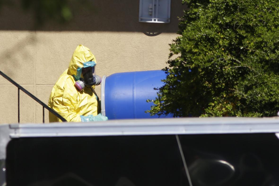 Ebola v Americe